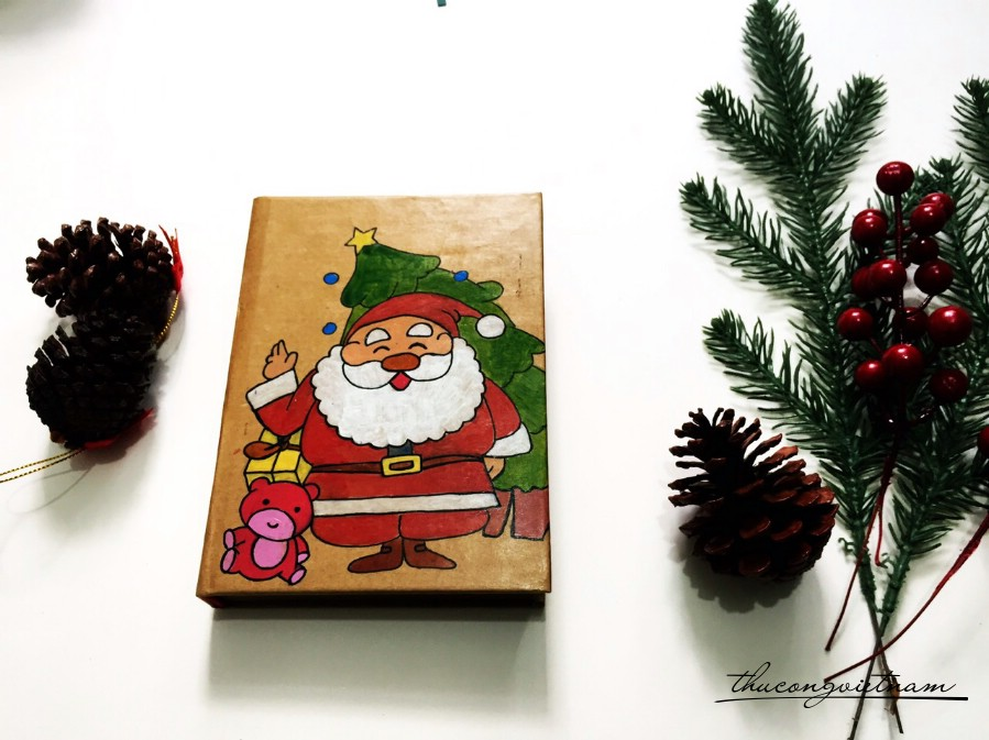 Sổ vẽ tay Ông già Noel 2