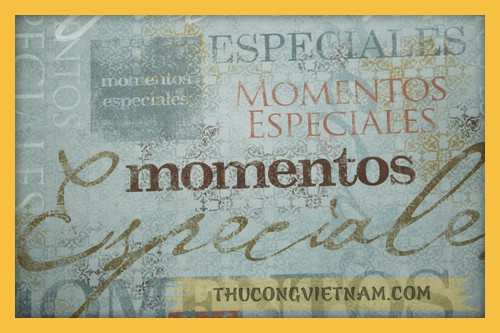 Giấy #60915 Special Moments Spanish